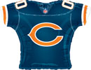 NFL Balloons Chicago Bears Jersey Shaped Balloon