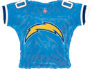 NFL Balloons San Diego Chargers Jersey Shaped Balloon