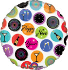 New Years Balloons New Years Balloon Icons
