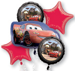 Balloon Bouquets Disney Cars Balloon Bouquet