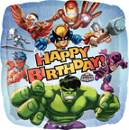 Marvel Heroes Balloons