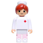 Medicom Toy Babekub Series 1 Kubrick Be@Rbrick Nurse