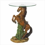 Majestic Stallion Accent Table