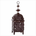 Moroccan Candle Lantern 12""