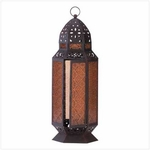 Moroccan Candle Lantern 19""
