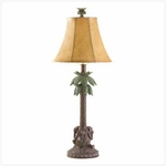 Tropical Palm Tree Lamp