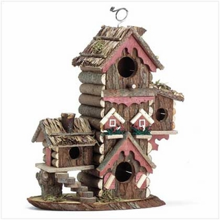 Rustic Gingerbread Style Bird House