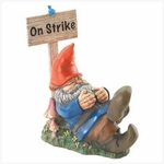 Garden Gnome - On Strike