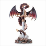 Dragon & Sword Display Letter Opener
