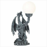"18"" Dragon Globe Lamp"