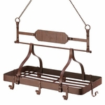 Country Cow Kitchen Pot Rack