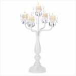 Bejeweled Candelabra Candle Holder