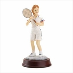 Tennis Girl Sports Figurine