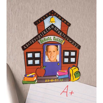 School House Photo Frame