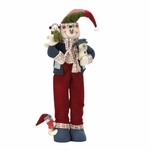 Merry Snowman Plush Decor