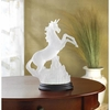Frosted Unicorn Figurine