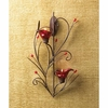 Ruby Blossom Tealight Sconce