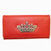 Red Queen Collection Rhinestone Crown Wallet