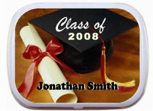 Personalized Mint Tins Graduation Party Keepsake Gift Favors