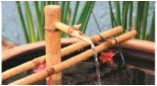 Bamboo Spout and Cross Arm