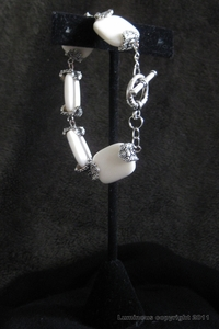Antique Silver-Boheme Bone