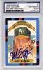 Mark McGwire PSA/DNA Certified Authentic Autograph - 1988 Donruss DK