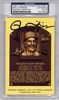 Rollie Fingers PSA/DNA Certified Authentic Autograph HOF Plaque