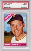 1966 Topps Roy Face #461 PSA 9 None Higher