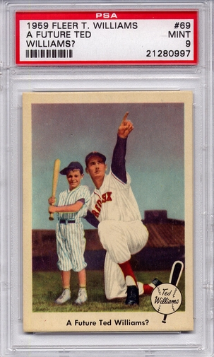 1959 Fleer Ted Williams - A Future Ted Williams? #69 PSA 9