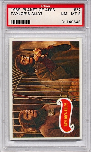 1969 Planet Of The Apes - Taylor's Ally! #22 PSA 8