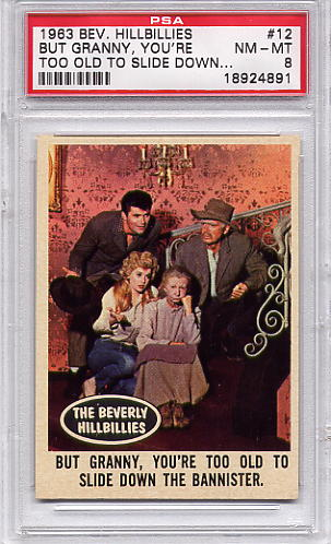 1963 Beverly Hillbillies - But Granny, You're Too Old #12 PSA 8