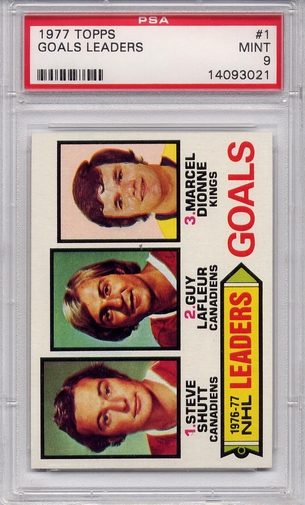 1977 Topps Goals Leaders #1 PSA 9