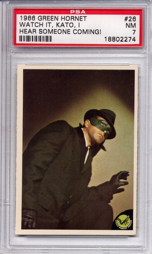 1966 Green Hornet - Watch It, Kato, I Hear Someone #26 PSA 7