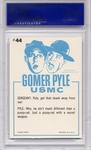 1965 Gomer Pyle - It Ain't The Smell So Much #44 PSA 8