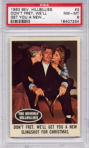 1963 Beverly Hillbillies - Don't Fret, We'll Get You A New #3 PSA 8