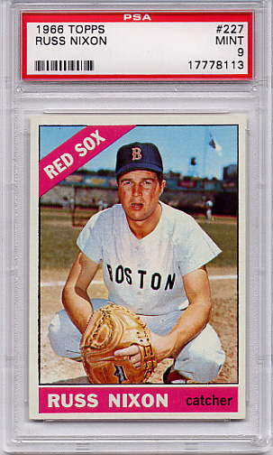 1966 Topps Russ Nixon #227 PSA 9 None Higher