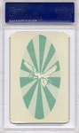 1966 Green Hornet Playing Cards - 2 Of Diamonds PSA 8