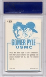 1965 Gomer Pyle - That Funny Sergeant #13 PSA 8