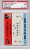 1965 Philadelphia - Detroit Lions Play Card #70 PSA 9 None Higher