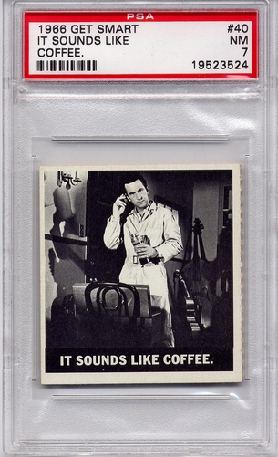 1966 Get Smart - It Sounds Like Coffee #40 PSA 7