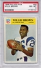 1966 Philadelphia Willie Brown #93 PSA 8