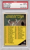 1961 Topps Checklist 6th Series #437 PSA 8 (Error)