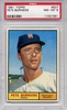 1961 Topps Pete Burnside #507 PSA 8