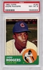 1963 Topps Andre Rodgers #193 PSA 8