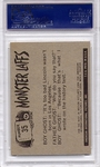 1966 Monster Laffs - Let's Play Charades #35 PSA 8