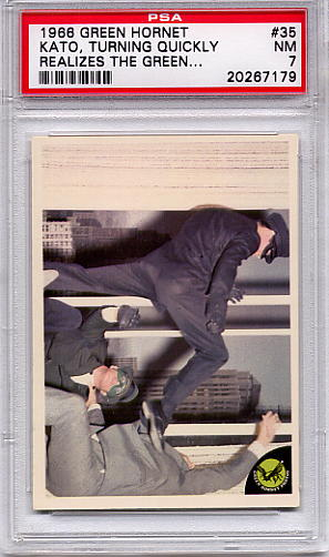 1966 Green Hornet - Kato, Turning Quickly Realizes #35 PSA 7