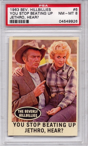 1963 Beverly Hillbillies - You Stop Beating Up Jethro #6 PSA 8