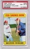 1969 Topps Ted Shows How #539 PSA 8