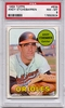 1969 Topps Andy Etchebarren #634 PSA 8