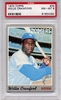 1970 Topps Willie Crawford #34 PSA 8